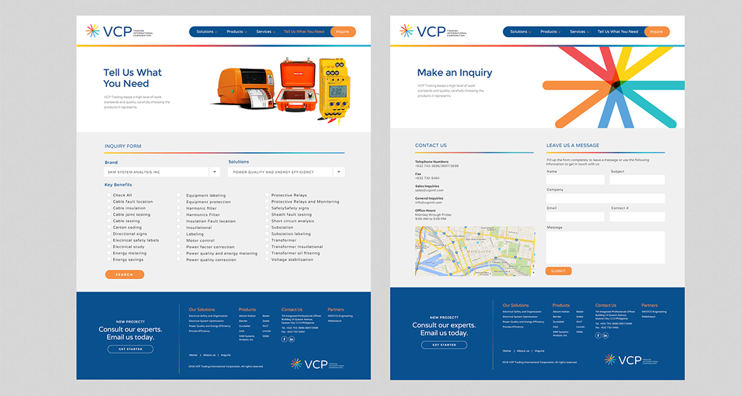 VCP, Branding, Identity, Design, Marc Ruiz, Corporate Identity, Trading, Solutions, Website Design, Graphic Design