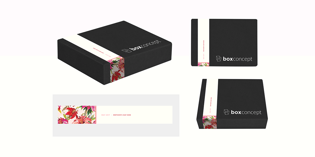 Boxconcept, Branding, Identity, Website Design, Graphic Design, Subscription, Box Subscription, Box, Marc Ruiz, Packaging,