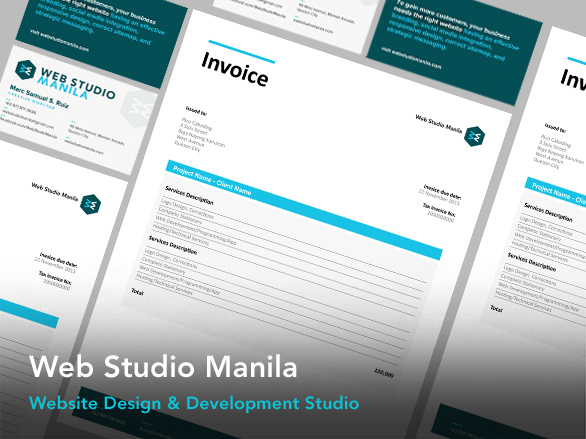 web,studio,manila,collateral,brand,identity,development, word,