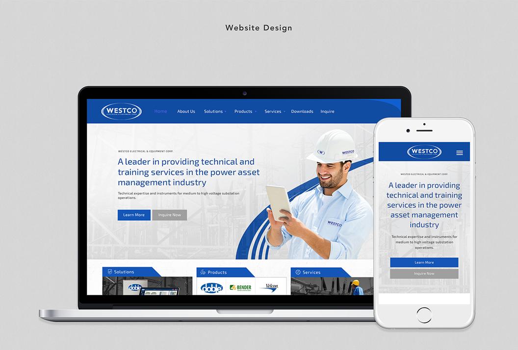 WESTCO, Electrical, Equipment, Branding, Identity, Website Design, Marc Ruiz, Corporate Identity, Graphic Design