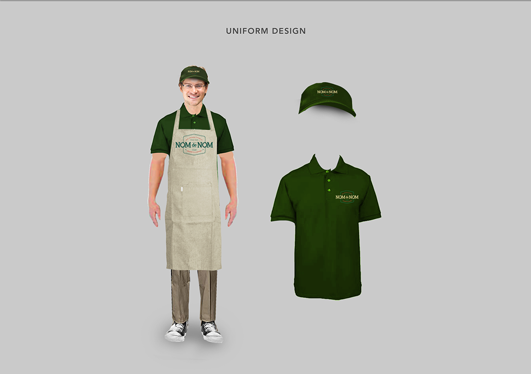 Nom de Nom, Beignet, Coffee, New Orleans, Freshly Made, Branding, Identity, Graphic Design, Marc Ruiz